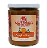 Kauffman's Homemade Pumpkin Butter. Non-GMO, Gluten-Free, Kosher. Enjoy As A Spread, With Coffee, And More! 17 Oz. Jar (Pack of 6)