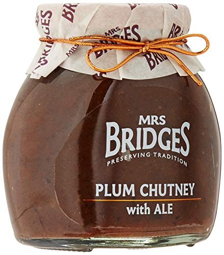 Mrs Bridges Chutney Plum With Ale 285g