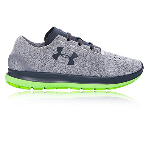 Under Armour Mens Speedform Slingride Glaciär Grå / Hyper Grön / Stealth Grå