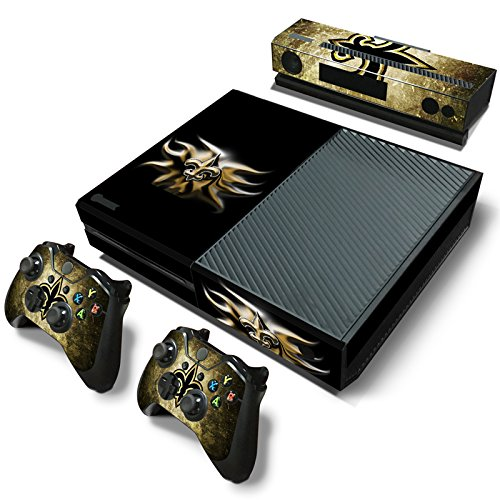 Orleans Saints New Controller (FriendlyTomato Xbox One Console and Controller Skin Set - Football NFL - PlayStation 4 Vinyl)