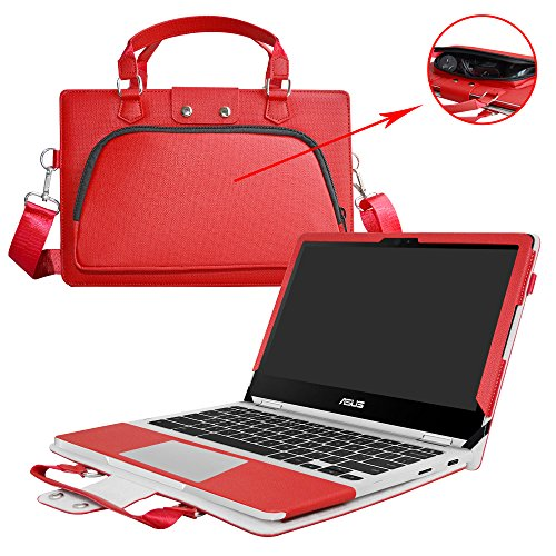 Amazon.com: ASUS C213SA C213NA Case,2 in 1 Accurately Designed Protective PU Cover + Portable Carrying Bag For 11.6