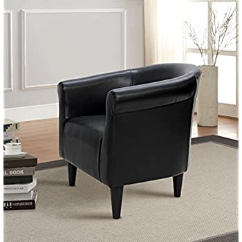 Amazon Com Mainstays Gray Bucket Accent Chair Designed