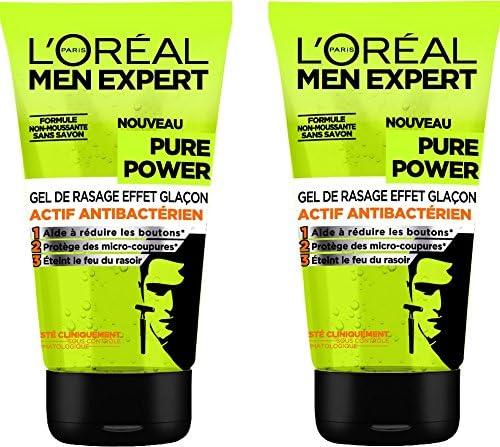 L Oréal Men Expert Gel de Afeitado Hombre Visage efecto hielo ...