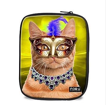 GG Fine iPad embrague bag-grade 3d animales especial a prueba de polvo funda: Amazon.es: Electrónica
