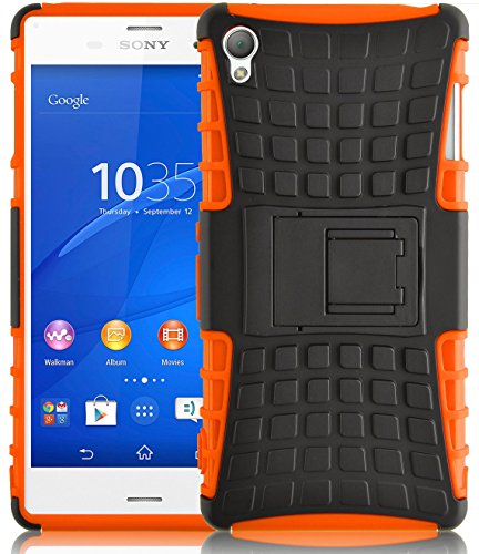 Xperia Z3 Case - ALLIGATOR Heavy Duty Rugged Back Cover for Sony Xperia Z3, Orange