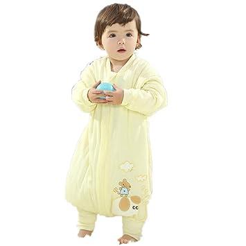 Amazon.com: Saco de dormir para bebé con patas para invierno ...