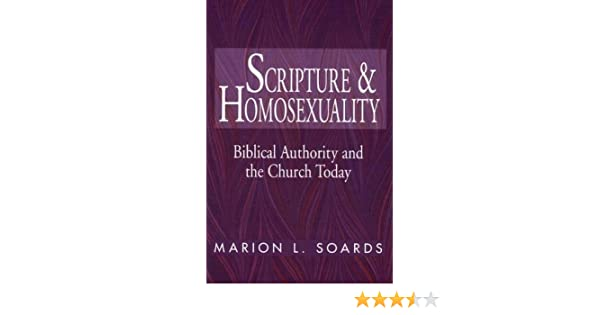 Marion soards homosexuality