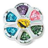 Assorted Celluloid Guitar Picks Pack: Thin, Medium and Heavy Gauge