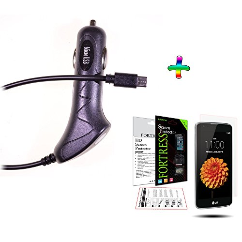 (Bundle CLA.SP) LG K7 Tribute 5 Plug in  - Car Charger Lcd Guard Shopping Results
