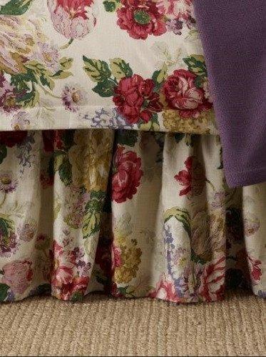Lauren By Ralph Lauren Full Bedskirt, Surrey Garden Floral