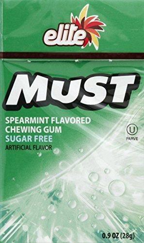 - Elite Must Sugar free gum (Spearmint, 16)