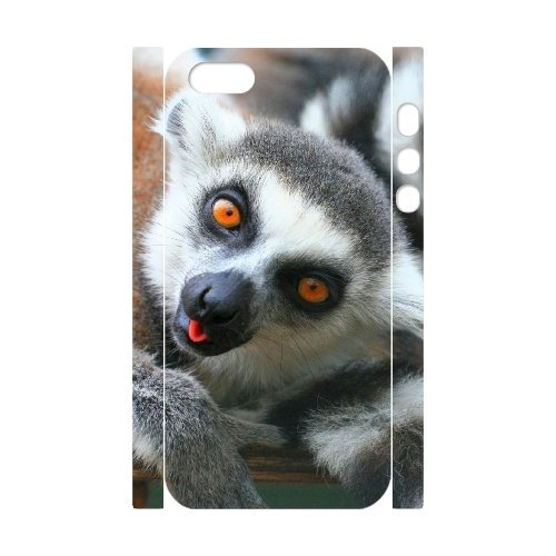 SYYCH Phone case Of Lemur Cover Case For iPhone 5,5S