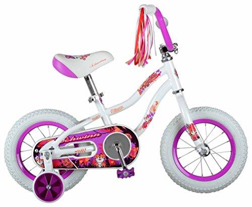 Schwinn Girls Tigress Bicycle, 12' Wheel, White