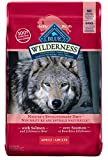Wilderness 802022 High Protein Grain Free, Natural Adult Dry Dog Food, Salmon, 24 lb 1 Count