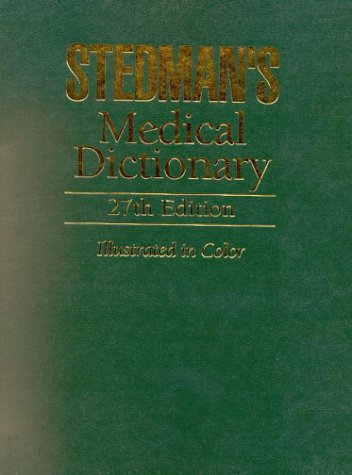 Stedman's Medical Dictionary, Student Value Pack (Book with CD-ROM)