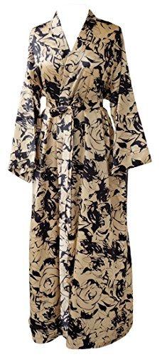 JANA JIRA Womens Long Ankle Length Robe for Women Plus Size Nightgowns