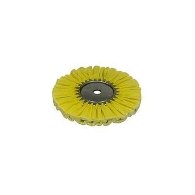 Zephyr AWY 58-10 FC4 Yellow 1 on 1 4 Fast Cut Airway Buffing wheel: Automotive