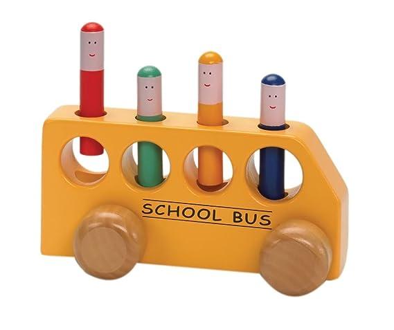 Pop Up School Bus , Kid ,Toy , Hobbie , Nice Gift