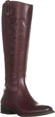 Size 8.0 Chocolate INC International Concepts Womens Fawne Leather Round Toe