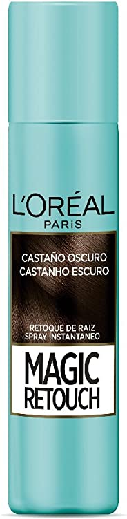 Retocador de raíces Magic Retouch L'Oréal Paris Tono Castaño, 75ml