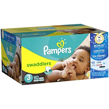 Pampers Swaddlers Size 3 Olympics 162 Count