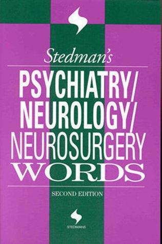 Stedman's neurology & neurosurgery words