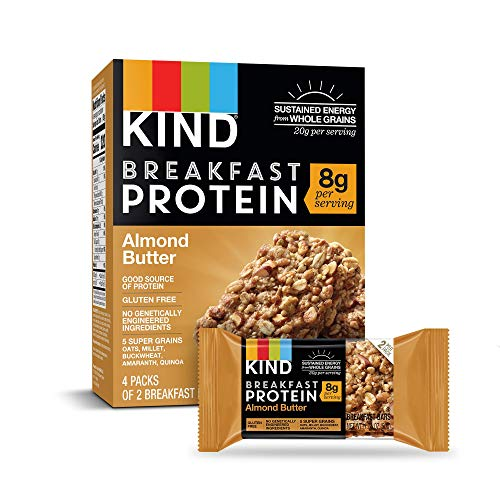 (KIND Breakfast Protein Bars, Almond Butter, Gluten Free, 1.76oz, 32 Count)