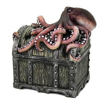 Pacific Giftware Decorative Davy Jones Locker Treasure Chest