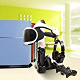 PS VR Charging Station,AMZtronics Charge & Display Stand with LED Indicator for PlayStation 4 Controller and PS Move Motion Controller- PlayStation 4