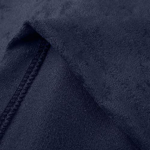 Giubbino Capispalla Giubbotti Manica Forti Giacche Autunno Tinta Fit Lunga Taglie Corte Slim Invernali Cappotti Cerniera Cardigan Donna Navy Mambain Giacca Unita Eleganti CxroeWdB
