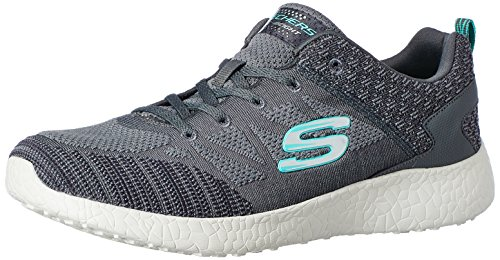 Baskets New Anthracite Femme Basses Influence Burst Skechers qwvnBAOtx