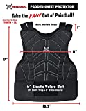 Maddog Padded Chest Protector, Tactical Half