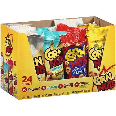 Corn Nuts Crunchy Corn Kernels Variety Pack - 1.7 oz. - 24 pk ()