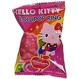 Hello Kitty Lollipop Ring (x24 Units), 0.28-Kilogram