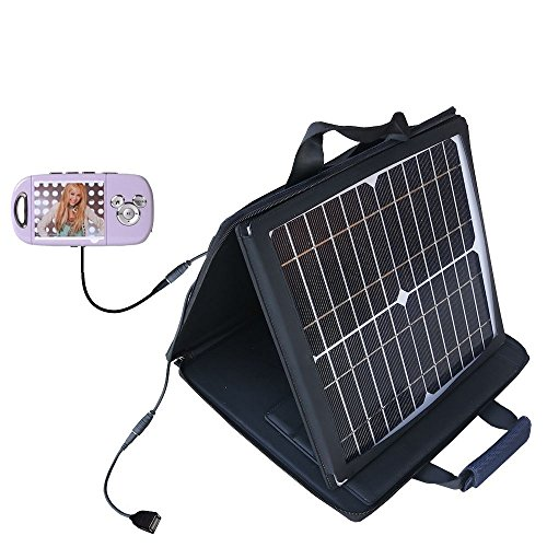 - Gomadic SunVolt Powerful and Portable Solar Charger suitable for the Disney Hannah Montana Mix Stick MP3 Player DS17032 - Incredible charge speeds for up to two devices
