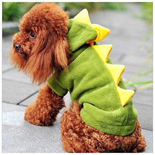 Brinty The Warm Dinosaur Clothes Pet Dog Costume