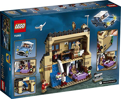 LEGO Harry Potter 4 Privet Drive 75968; Fun Children's Building Toy for Kids Who Love Harry Potter Movies, Collectible…
