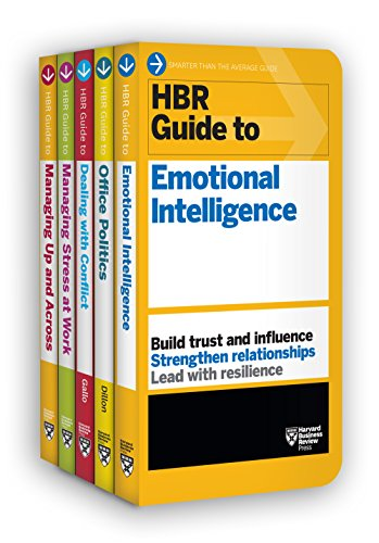 HBR Guides to Emotional Intelligence at Work Collection (5 Books) (HBR Guide Series) by Harvard Business Review Press