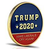 Trump 2020 Keep America Great - Produce Laughter or Tears - This Hilarious Coin is Always A Winner!! New Hilarious Trump Presidential Challenge Coin Exclusively by Michael Zweig