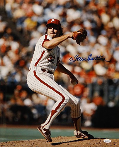 Steve Carlton Signed/ Autographed 16x20 Pitching Photo- JSA Authenticated Hand Signed Pitching 16x20 Photograph