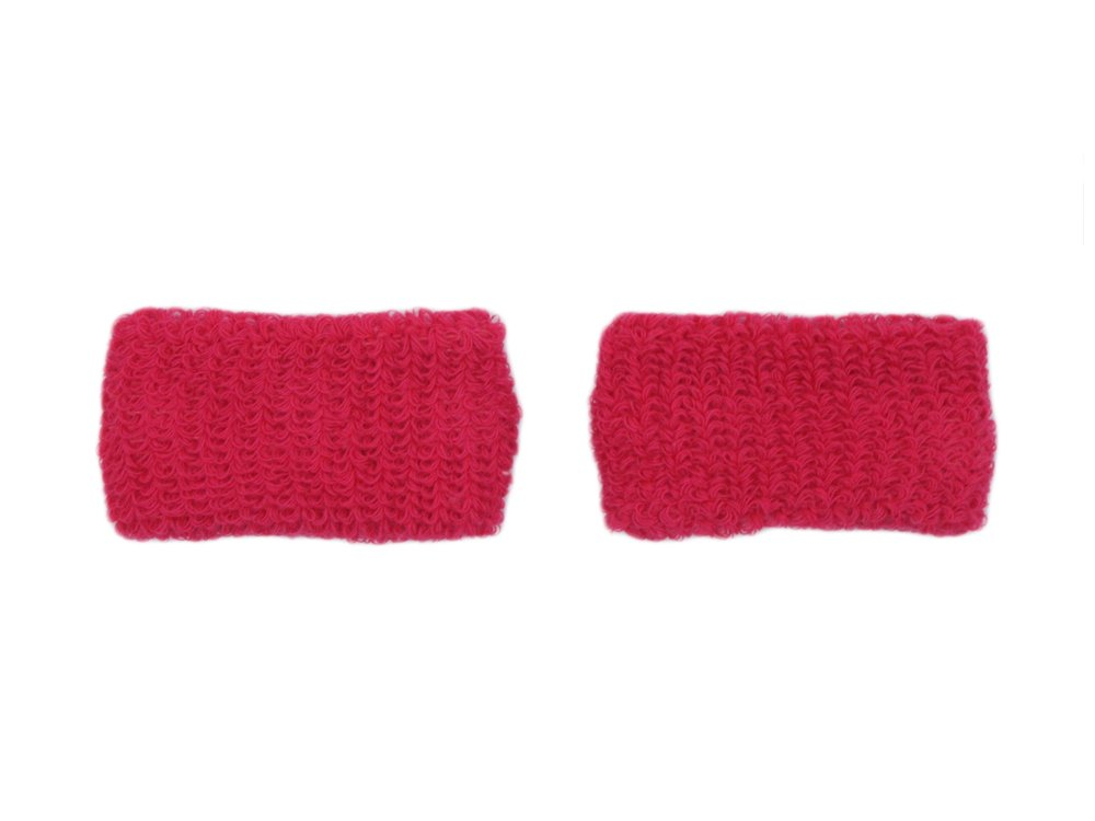 COUVER - Youth - Kids - Children - Pink Breast Cancer Awareness Sweat Affordable Wirstband - Hot Pink - Kids - 1 pair