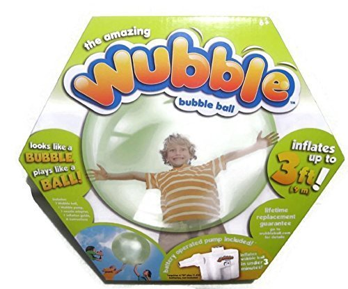 Wobble Ball - NSI The Amazing WUBBLE Bubble Ball - Looks Like a Bubble, Plays Like a Ball! Green