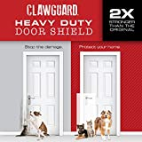 CLAWGUARD Heavy Duty Big Dog Scratch Shield - Ultimate Door, Frame & Wall Protection