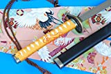 S3123 ANIME BLEACH 9TH DIV BUDWORM CRICKET TOUSEN KANAME ZUMUMUSHI SWORD ORANGE 41""