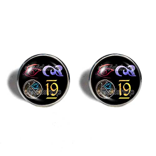 Amazon The Dark Tower Ka Symbol Cufflinks Cuff Links Fashion