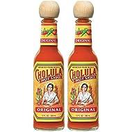 Cholula Original Hot Sauce, 2 - 12 Ounce Bottles, Gluten Free, Vegan, Low Sodium