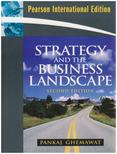 Strategy And The Business Landscape Ebook
