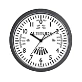 CafePress – Aviation Altimeter Wall Clock (White) – Unique Decorative 10″ Wall Clock For Sale
