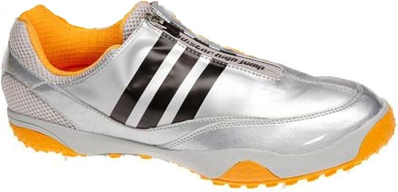 ADIDAS Adistar HJ Zapatilla Clavos Atletismo Unisex, Plata/Naranja, 48: Amazon.es: Zapatos y complementos