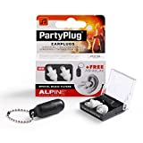 Alpine Partyplug Single-Attenuator Molded Earplugs White